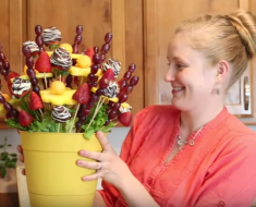 All Created - DIY Edible Arrangments
