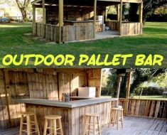 All Created - DIY Pallet Bar