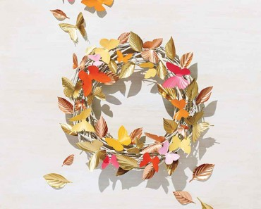 All Created - DIY Summer Wreath
