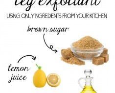 All Created - Homemade After Shave Leg Exfoliant