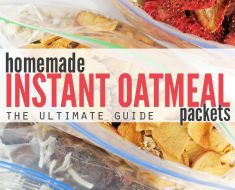 All Created - Homemade Instant Oatmeal -1