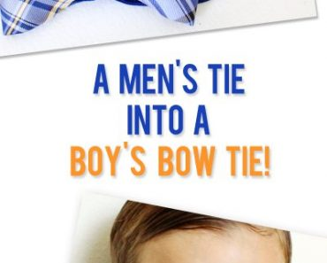 All Created - How to Make a Bowtie From a Necktie