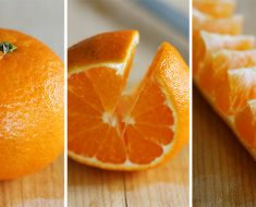 All Created- Peeling Oranges