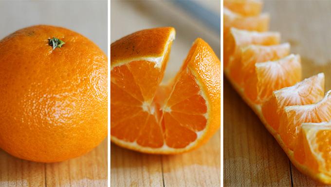 All Created- Peeling Oranges