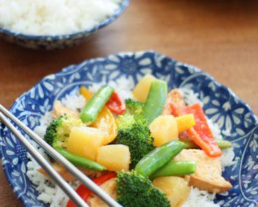 All Created - Pineapple Chicken Crockpot Recipe