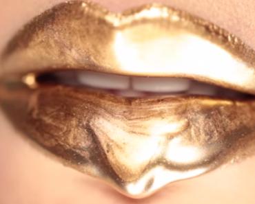 All Created - lip gloss art