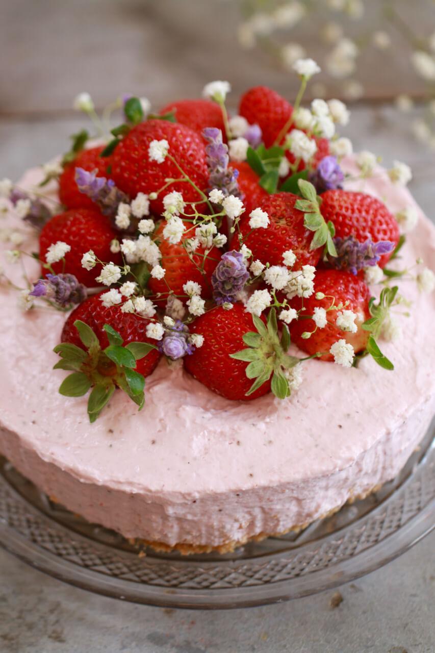 All Created - No Bake Cheesecake