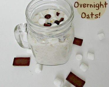 All Created - S'mores overnight oats