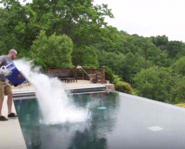 All Created - What Happends When You Throw Dry Ice Into A Pool