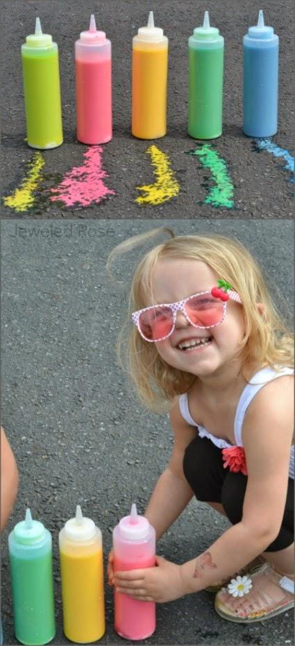 All Created - liquid sidewalk chalk