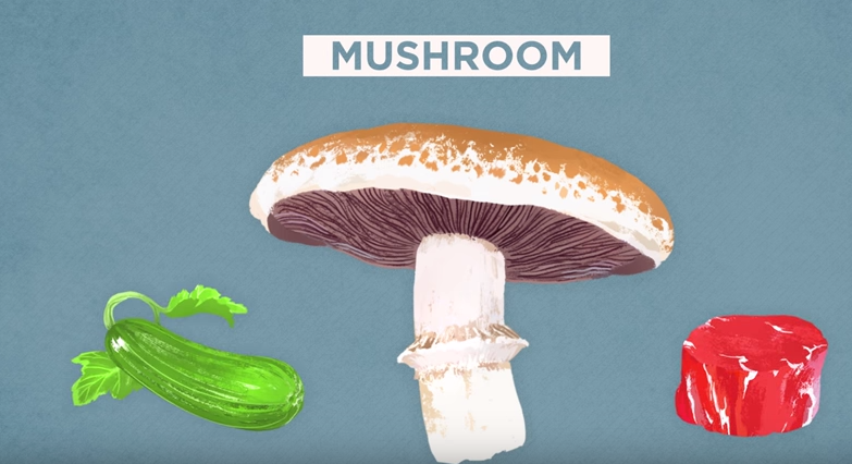 All Created - Can't Overcook Mushrooms