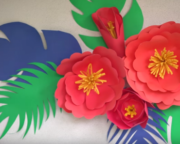 All Created - DIY Paper Flowers