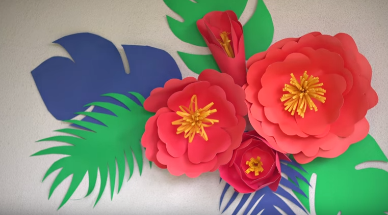 Diy paper flowers so easy all created all created diy paper flowers mightylinksfo