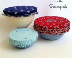 All Created - bandana bowl cover