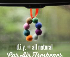 All Created - DIY Car Air Freshener