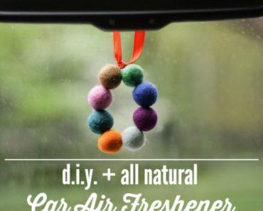 All Created - DIY Car Air Freshener