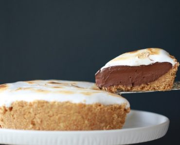 All Created - No Bake S'mores Pie