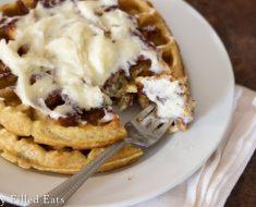 All Created - Cinnamon Roll Waffle