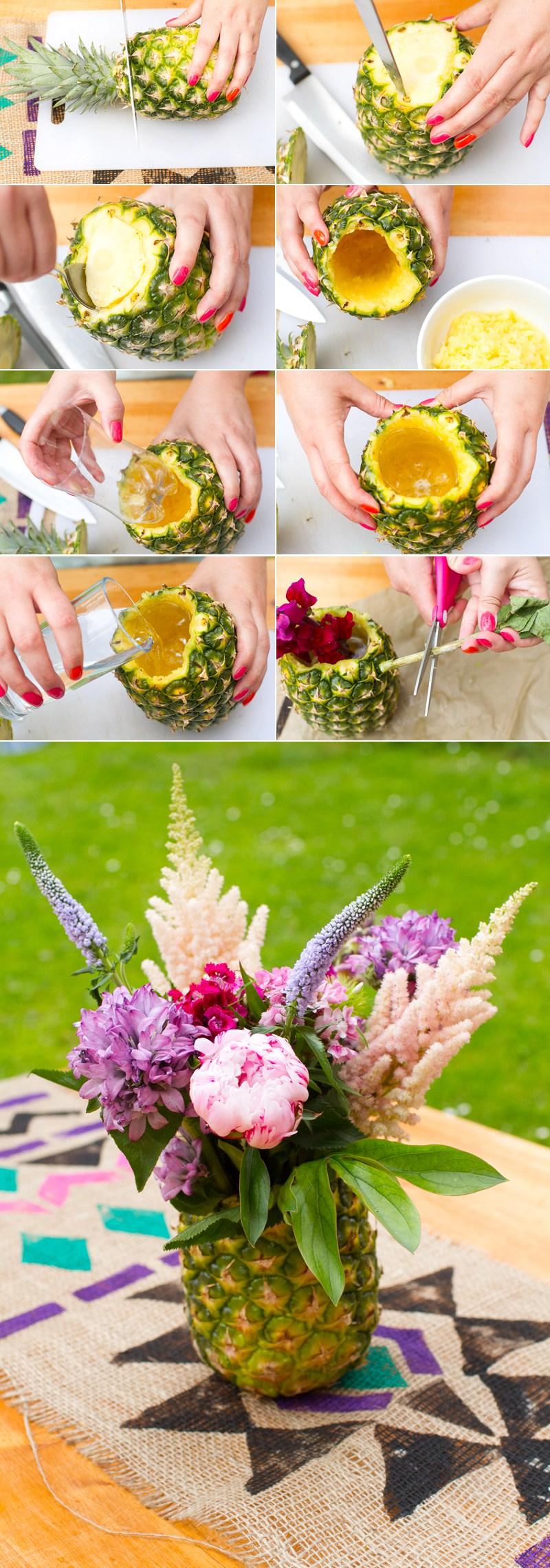 All Created - Cute Pineapple Vase 2