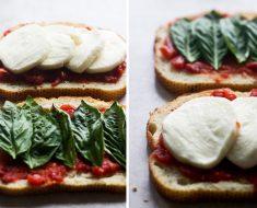 All Created - Bruschetta Grilled Cheese
