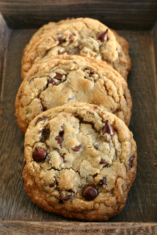 Giant Gluten Free Chocolate Chip Cookie All Created