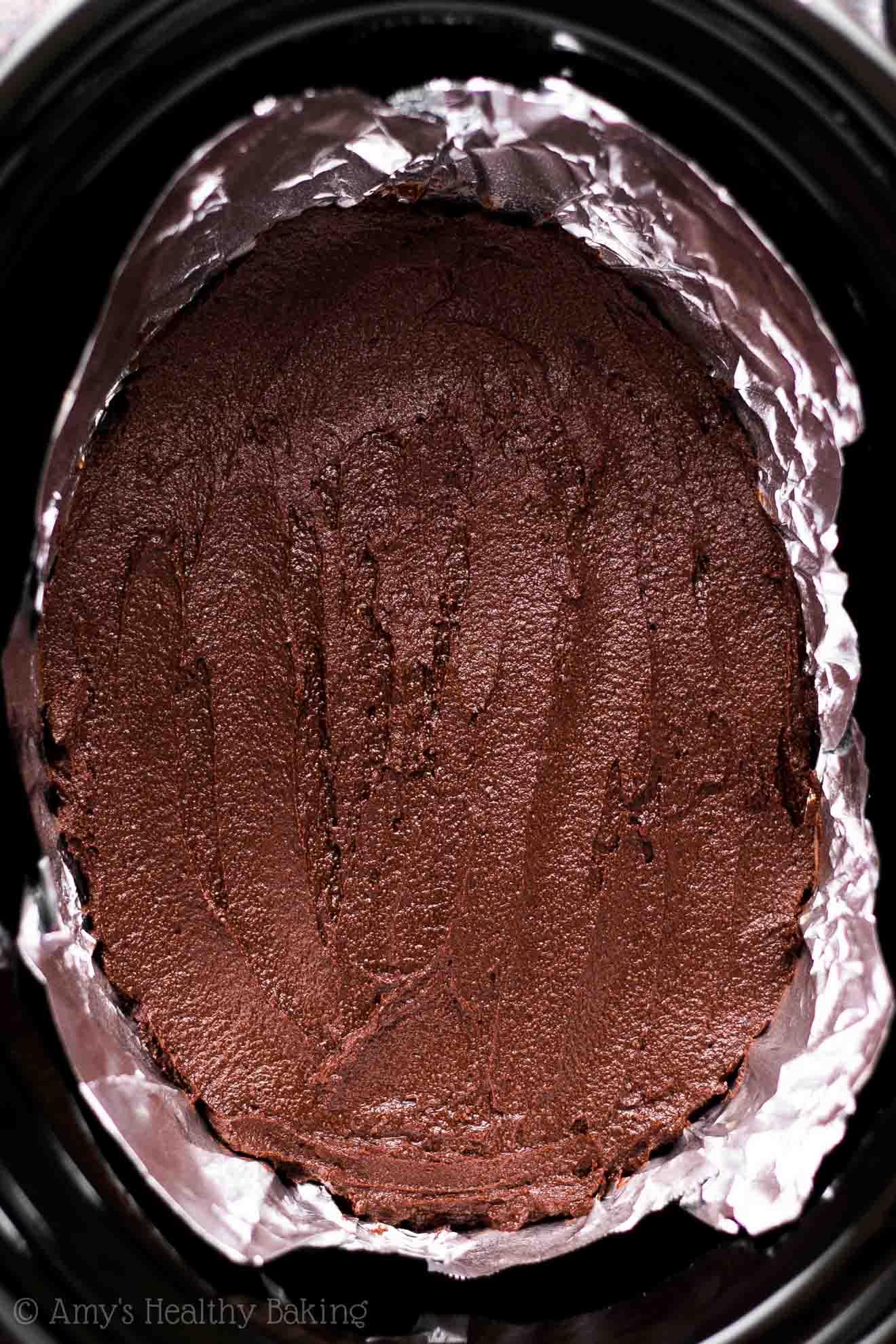 All Created - Healthy Crockpot Brownies
