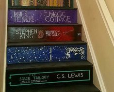 All Created - book staircase