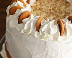 All Created - Banana Pudding Cake