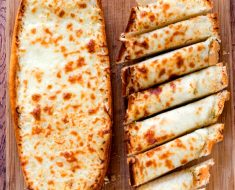 All Created - Easy Cheesy Garlic Bread