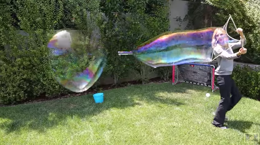 All Created- giant bubbles