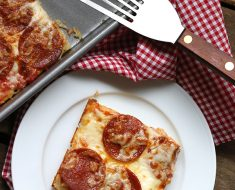 All Created - Low Carb Pan Pizza
