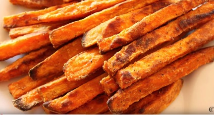 All Created - Sweet Potato Fries
