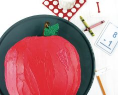 All Created - Back To School Apple Cake