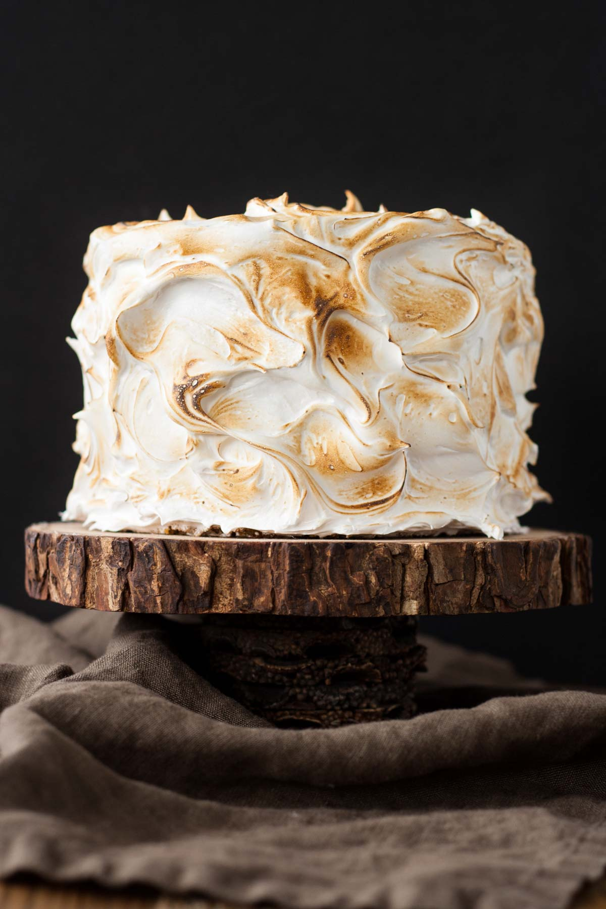 Marshmallow Graham Cracker Cake
