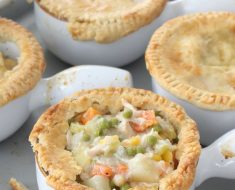 All Created - Chicken Pot Pies In A Mug