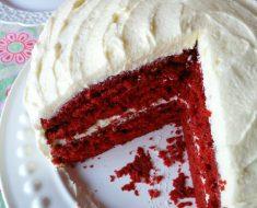 All Created - Classic Red Velvet Cake