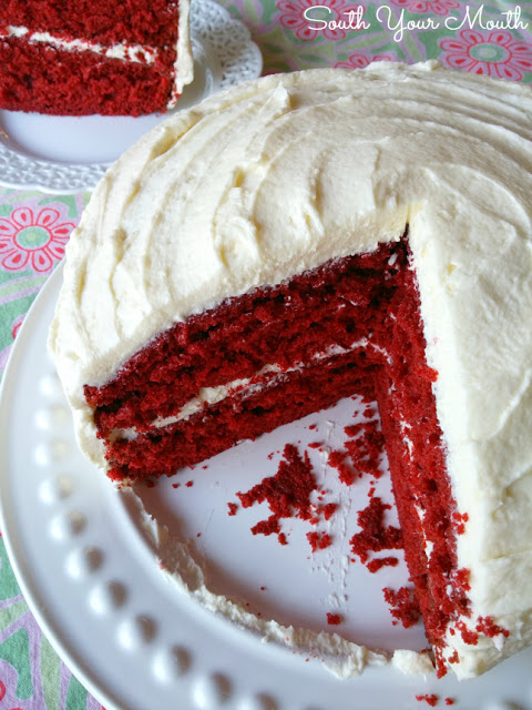 All Created - Classic Red Velvet Cake