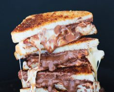All Created - Grilled S'mores Sandwich