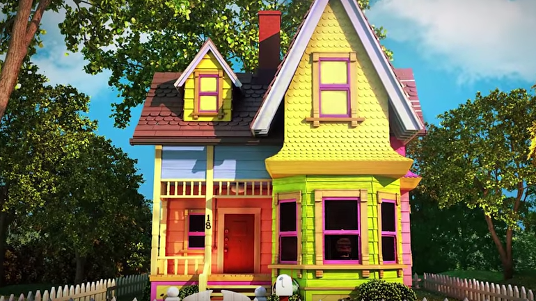 All Created - houses inspired by cartoons