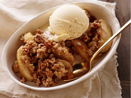 All Created- Caramel Apple Crisp