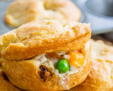 All Created - Muffin Tin Chicken Pot Pies