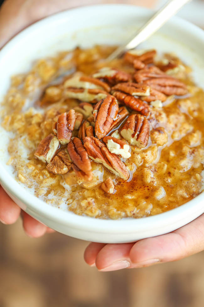 All Created - Pumpkin Pie Oatmeal
