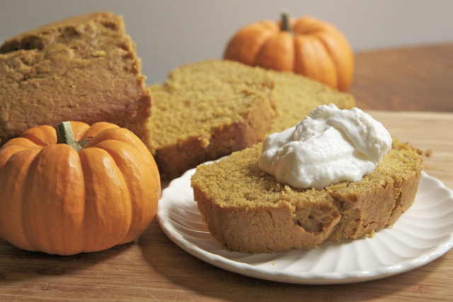 All Created - Pumpkin Bread