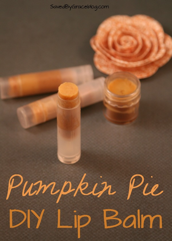 All Created - Pumpkin Pie Lip Balm