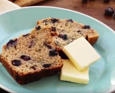 All Created - Blueberry Zucchini Bread