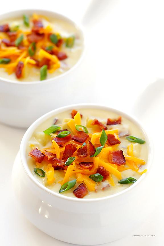 All Created - Crockpot Potato Soup