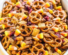 All Created - Pumpkin Spice Chex Mix