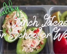 All Created - Healthy Lunches To Make For Work