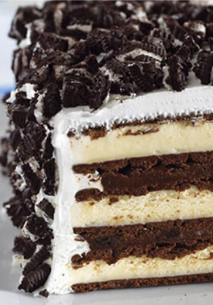 All Created - Ice Cream Sandwich Cake