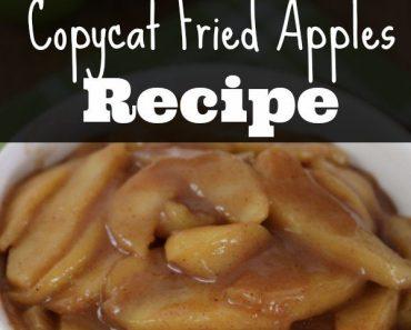 All Created - Copycat Cracker Barrel Fried Apples